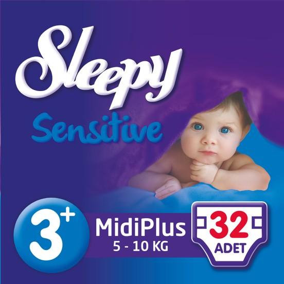 Sleepy - SLEEPY PEPEE MİDİ PLUS 32 Adet