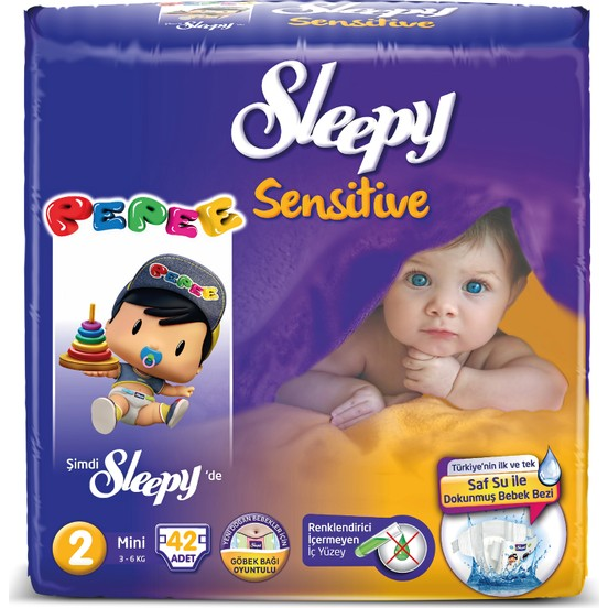 Sleepy - SLEEPY PEPEE MİNİ 42 Adet