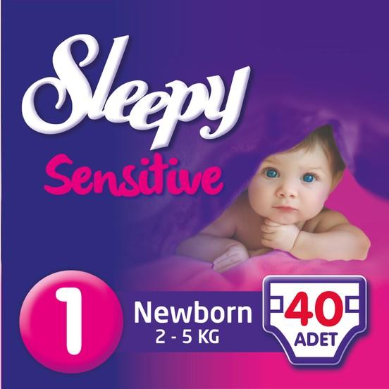 Sleepy - Sleepy Bebek Bezi 1 Numara 40adet