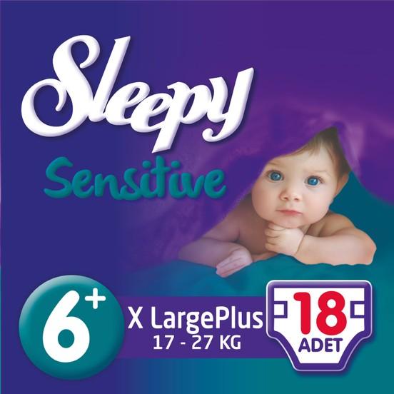 Sleepy - SLEEPY PEPEEE XL PLUS 18 Adet