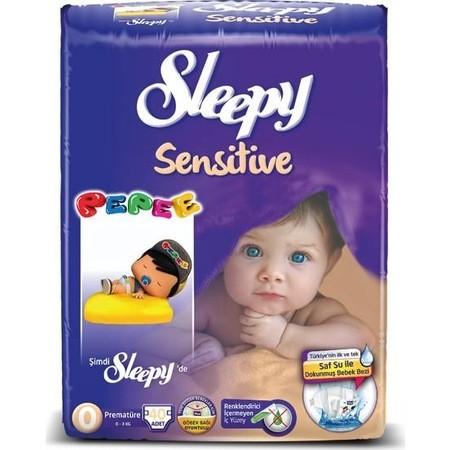 Sleepy - Sleepy Sensitive Premature 50 Adet Bebek Bezi