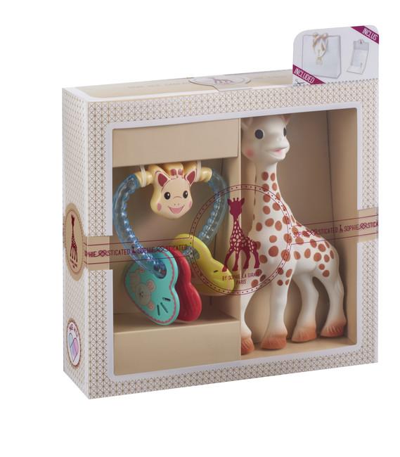 Sophie La Girafe - Sophie La Girafe Sohiesticated yeni doğan hediye seti 8