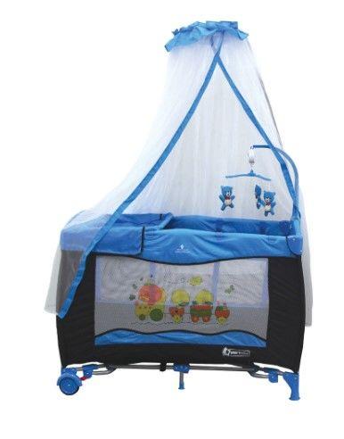 Star Baby - Star Baby Grow 76x110 Oyun Parkı Mavi