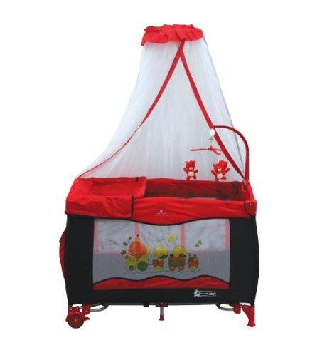 Star Baby - Star Baby Grow 76x110 Oyun Parkı Kırmızı