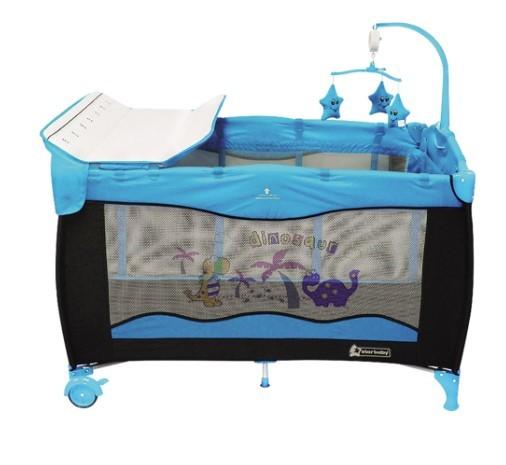 Star Baby - Star Baby Huge 76x120 Oyun Parkı Mavi