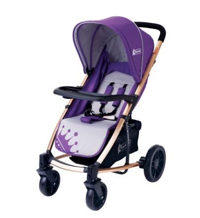 Star Baby - Star Baby King Bebek Arabası Mor