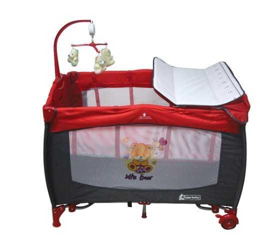 Star Baby Prevalent 76x110 Oyun Parkı Kırmızı