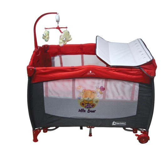 Star Baby - Star Baby Prevalent 76x110 Oyun Parkı Kırmızı