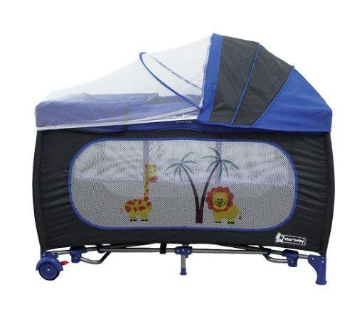 Star Baby - Star Baby Regular 60x120 Oyun Parkı Mavi