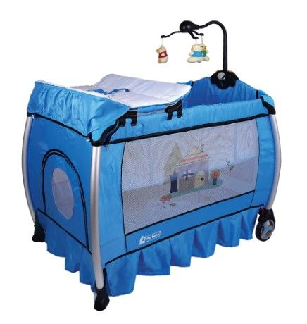 Star Baby - Star Baby Sole 76x110 Oyun Parkı Mavi