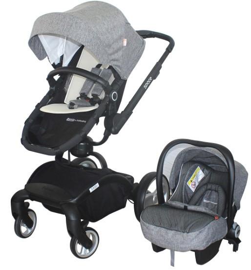 Star Baby - Star Baby Space Travel Sistem Bebek Arabası Gri