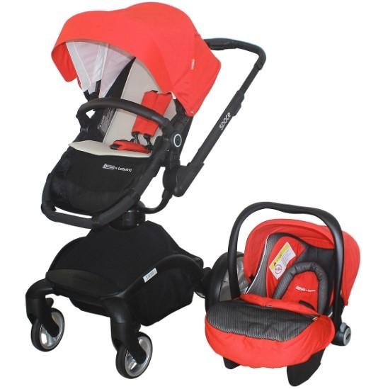 Star Baby - Star Baby Space Travel Sistem Bebek Arabası Kırmızı
