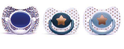 Suavinex - Suavinex Haute Couture Fizyolojik Silikon Emzik (4+ AY)