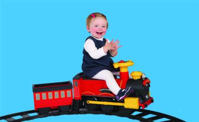 Sunny Baby - Sunny Baby 7221E Steam Train Express - Kırmızı