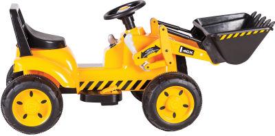 Sunny Baby - Sunny Baby JCB 4X Akülü İş Makinesi - Sarı