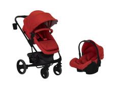 Sunny Baby - Sunny Baby Saturn Plus Travel Sistem Bebek Arabası - Kırmızı