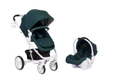 Sunny Baby - Sunny Baby Saturn Plus Travel Sistem Bebek Arabası - Yeşil