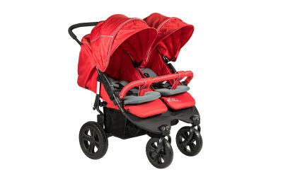 Sunny Baby - Sunny Baby Sweety İkiz Bebek Arabası - Kırmızı