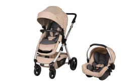 Sunny Baby - Sunny Baby Tesla Travel Sistem Bebek Arabası - Bej