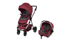 Sunny Baby - Sunny Baby Tesla Travel Sistem Bebek Arabası - Kırmızı