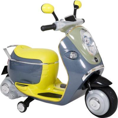 Sunny Baby - Sunny Baby W388E Akülü Mini Scooter - Yeşil
