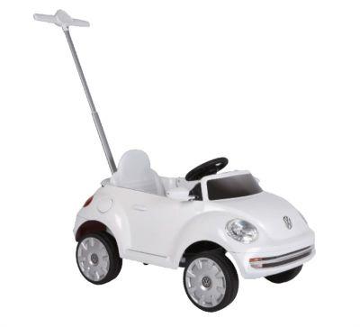 Sunny Baby - Sunny Baby ZW456MP Beetle Push Car Beyaz