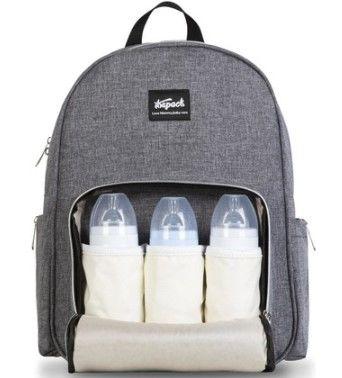 theback - Thepack anne bebek bakım çantası efsane serisi gri