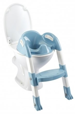 Thermobaby - Thermobaby Kiddyloo Tuvalet Eğitmeni Mavi-Beyaz