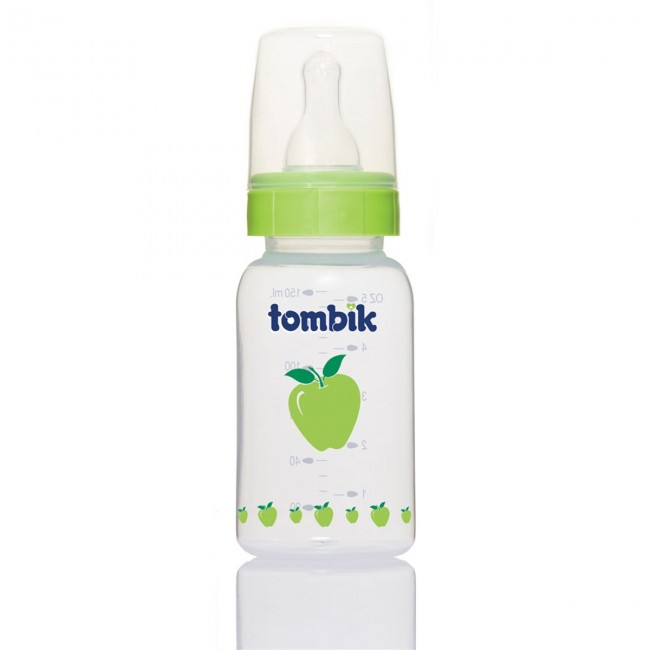 Tombik - Tombik %0 BPA PP Biberon Meyve Serisi 150ml / Elma
