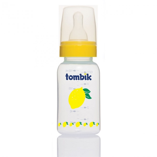 Tombik - Tombik %0 BPA PP Biberon Meyve Serisi 150ml / Limon