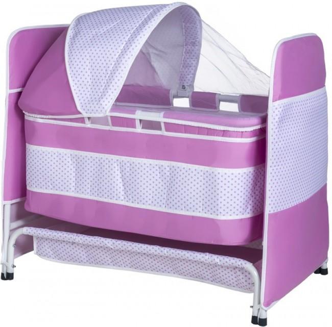 TOMMYBABY - Tommybaby 2019 Baby Crib Sepet Bebek Beşik Pembe