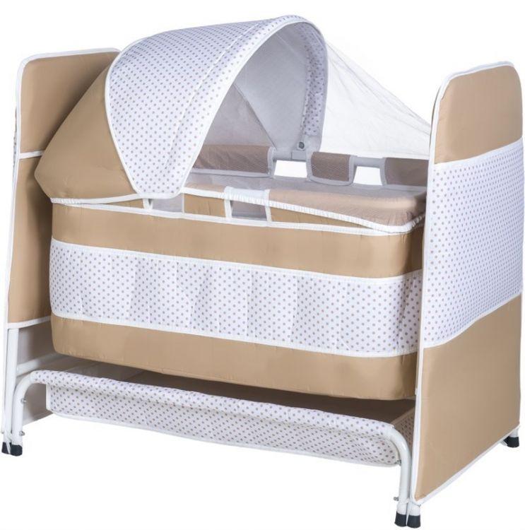 TOMMYBABY - Tommybaby 2019 Baby Crib Sepet Bebek Beşik Krem