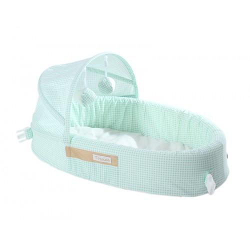 Tossiee - Tossiee Portatif Bebek Yatağı - Yeşil