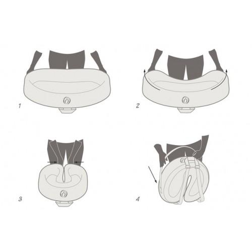 Tossiee Portatif Bebek Yatağı - Yeşil - Thumbnail