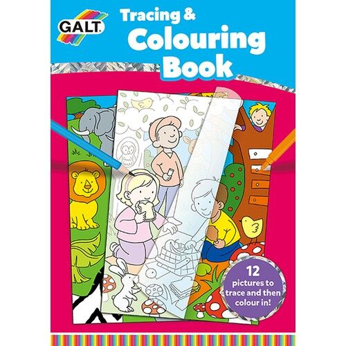 - Tracing & Colouring Book 5 Yaş+