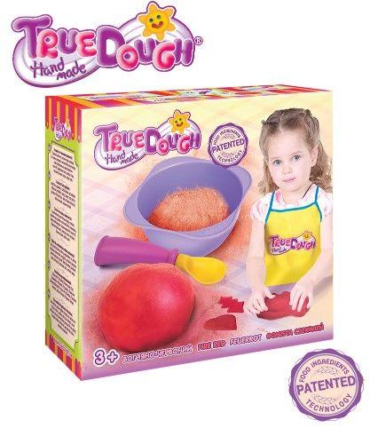 TrueDough - TrueDough Doğal Oyun Hamuru Tekli Paket (Kırmızı)