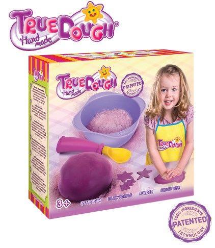 TrueDough - TrueDough Doğal Oyun Hamuru Tekli Paket (Lila)