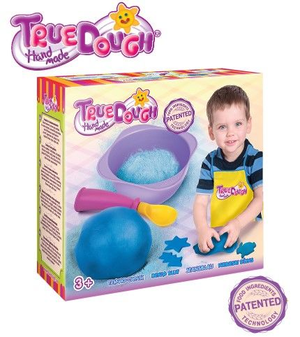 TrueDough - TrueDough Doğal Oyun Hamuru Tekli Paket (Mavi)