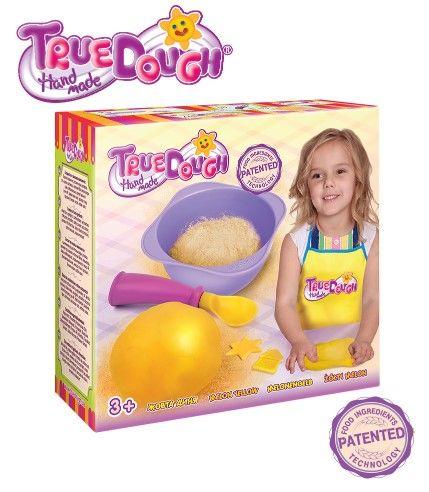 TrueDough - TrueDough Doğal Oyun Hamuru Tekli Paket (Sarı)