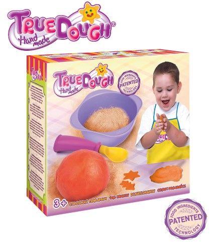 TrueDough - TrueDough Doğal Oyun Hamuru Tekli Paket (Turuncu)