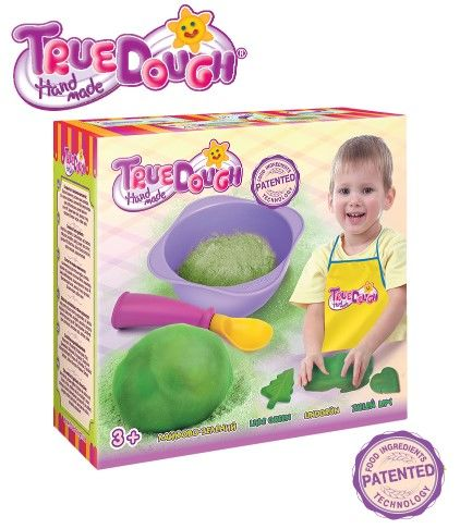 TrueDough - TrueDough Doğal Oyun Hamuru Tekli Paket (Yeşil)