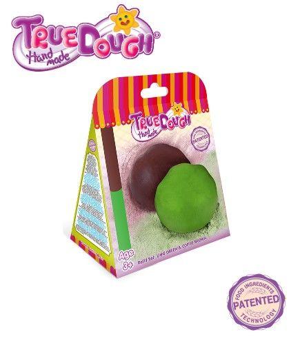 TrueDough - TrueDough Doğal Oyun Hamuru Yedek İkili Paket (Yeşil & Kahverengi)