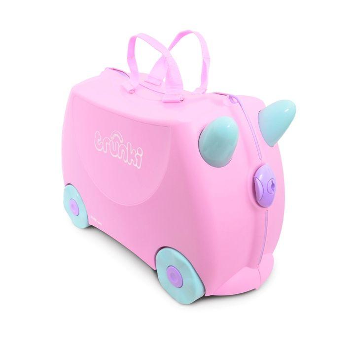 Trunki - Trunki Çocuk Bavulu - Açık Pembe Rosie