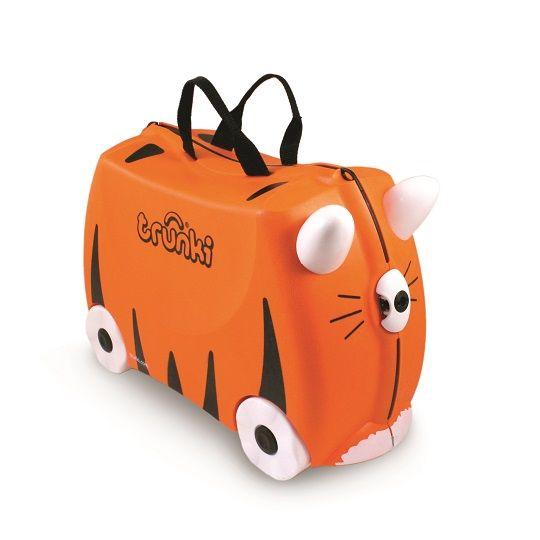 Trunki - Trunki Çocuk Bavulu - Kaplan Tipu