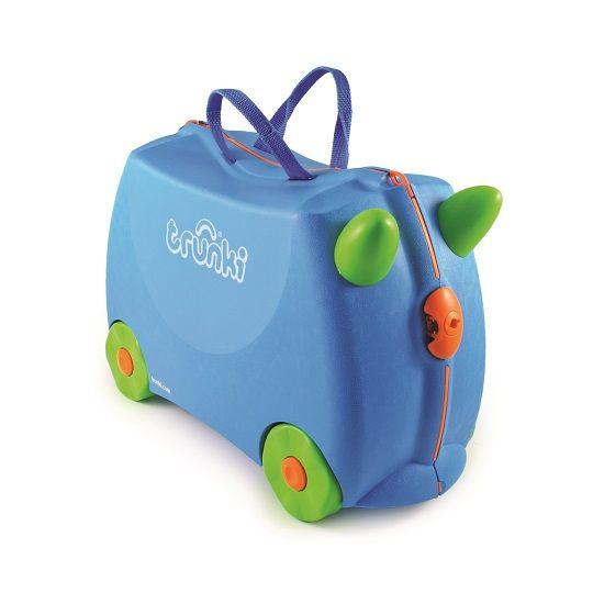 Trunki - Trunki Çocuk Bavulu - Mavi Terrance