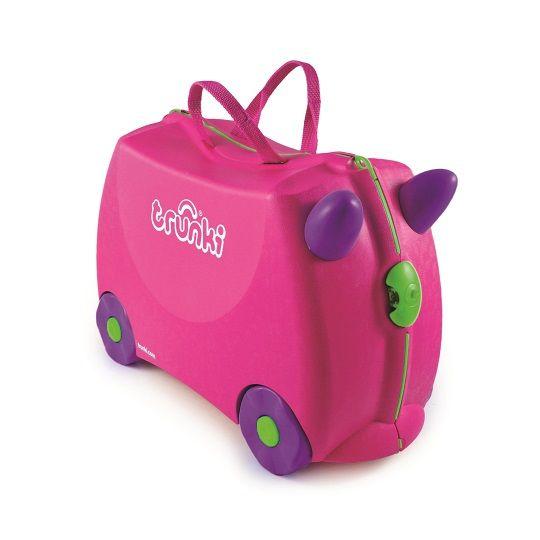Trunki - Trunki Çocuk Bavulu - Pembe Trixie