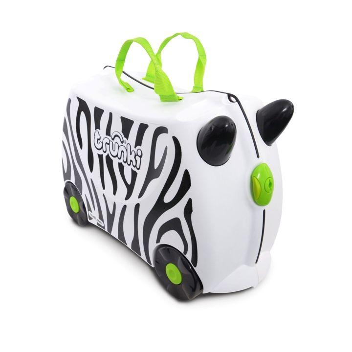 Trunki - Trunki Çocuk Bavulu - Zimba Zebra