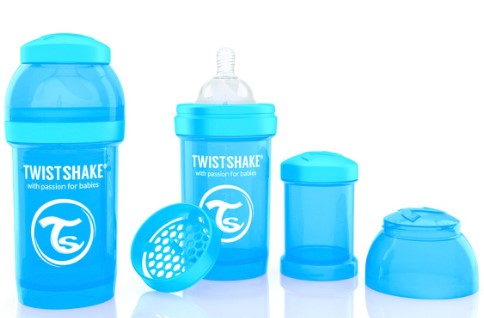 - TwistShake Anti-Colic 180ML Biberon MAVİ
