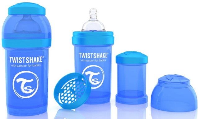 - TwistShake Anti-Colic 330ML Biberon MAVİ