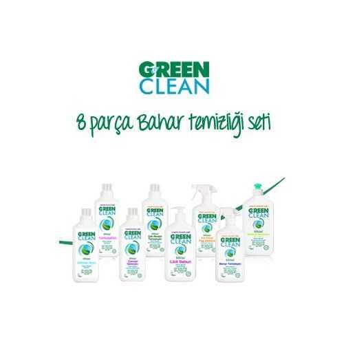 U Green Clean 8 Parça Temizlik Seti